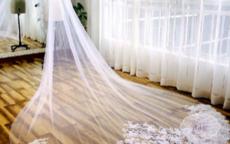 5种最美的婚纱头纱 搭配对了头纱你才是最美的新娘