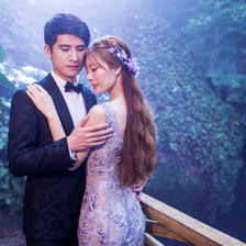 森系婚纱照可以选哪些礼服 给你一个清新唯美的梦