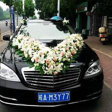 主婚车花车图片大全 婚车可以这么装饰