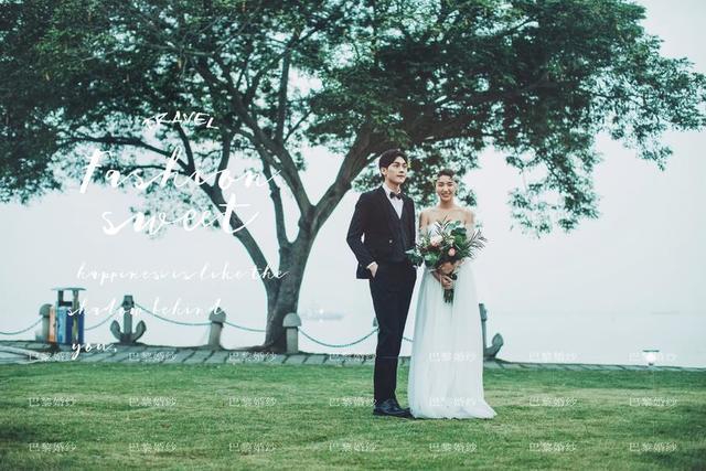 利用道具拍婚纱照