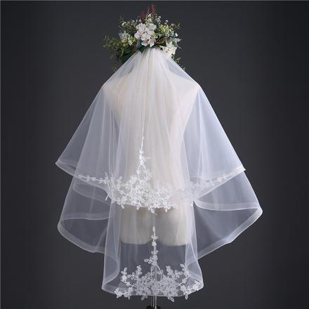 韩式铃兰新娘头纱