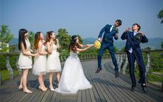 结婚整伴郎有趣的招数  6大堵门整伴郎游戏任你选