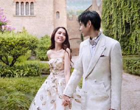 郭碧婷向佐婚纱照曝光!明星示范拍婚纱照的姿势和表情