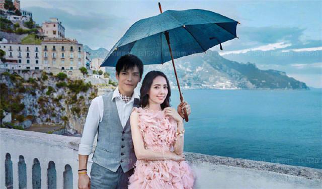 雨天婚纱照