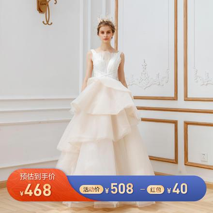 《为爱加冕》仙气奢华气质婚纱
