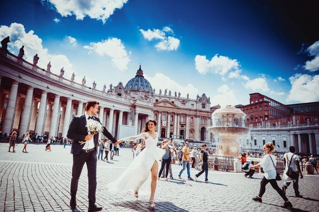 国外拍婚纱照