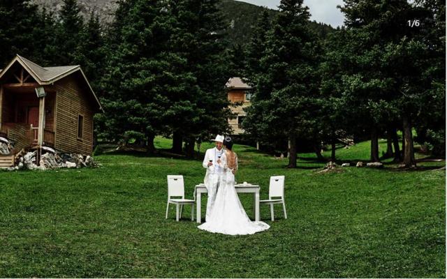 哈里哈图旅拍结婚照