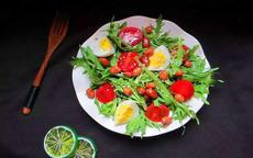 减肥的蔬菜沙拉简单做法