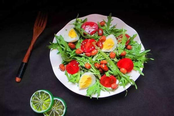 减肥的蔬菜沙拉