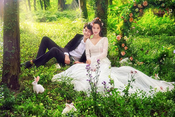 春天婚纱照