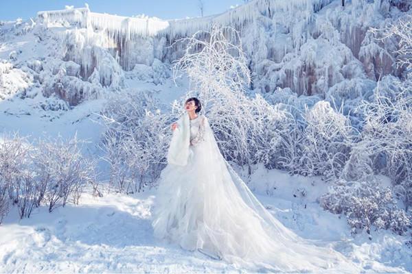 冬天婚纱照