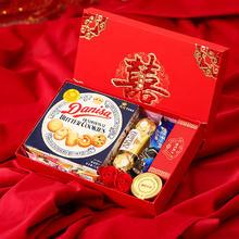 喜庆系列中式红色糖果礼盒装