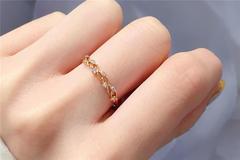 金戒指戴中指代表什么意思