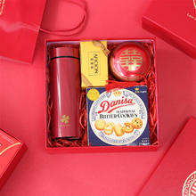 中国风红色婚礼喜糖礼盒