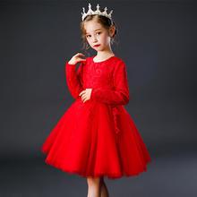 秋季新款蓬蓬网纱洋气公主裙