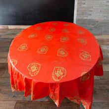 【10张】结婚一次性桌布塑料婚庆台布