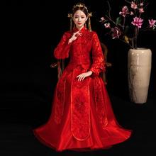 锦绣系列•红颜烈焰中式秀禾服