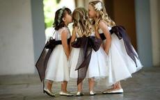 如何挑选花童穿的儿童婚纱礼服