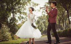 古典婚纱照高清图片欣赏