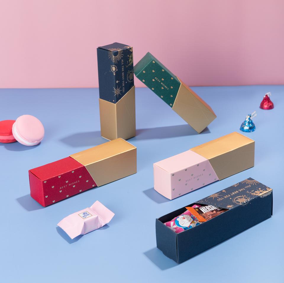 创意口红喜糖盒