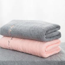 长绒棉加厚情侣浴巾
