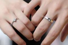 男士订婚戒指戴哪个手指