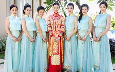 伴娘参加婚礼穿什么颜色的衣服 伴娘服颜色有什么讲究