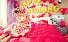 祝福新人的结婚简短祝福语八个字