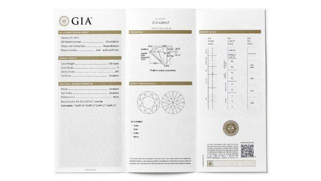 GIA证书1