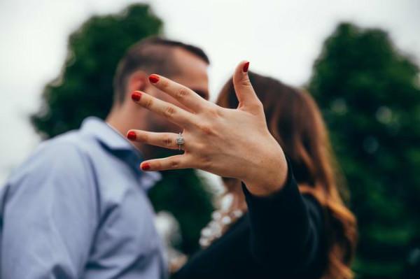 展示求婚戒指