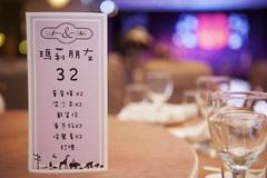 婚宴桌牌名称大全 婚宴桌牌怎么写