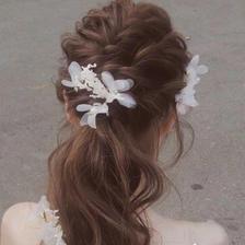 新娘盘发发型图片 新娘发型盘点