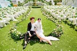 空中花园 草坪婚礼