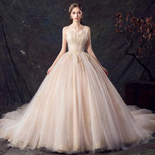 法式公主梦幻抹胸婚纱