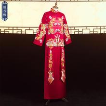 中式男士盘锦绣复古礼服