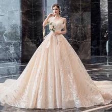 森系公主梦幻抹胸孕妇遮孕肚婚纱•送三件套
