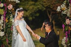 婚礼上新郎对新娘的朴实告白
