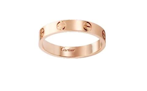 Cartier对戒