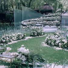 草坪婚礼布置必备物品清单