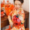 龙凤褂+红色小物让你的婚礼高级又暖和!