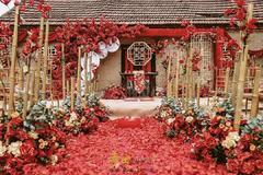 农村婚礼场地怎么布置