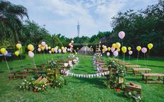 小型草坪婚礼一般价格