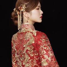 新娘盘头发型图片 打造新娘完美发型
