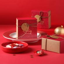 中式爱之经典小方盒成品喜糖(含糖)