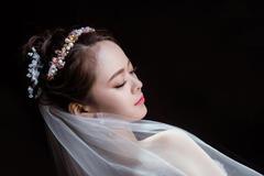 自己可以扎的新娘发型 详细步骤教程