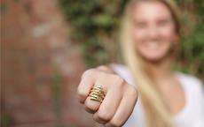 女孩戴戒指的含义