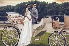 韩式婚纱发型造型图片