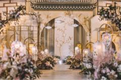浪漫婚礼现场怎么布置