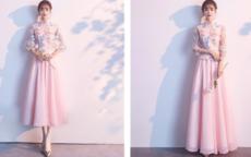 中式婚礼伴娘礼服什么合适伴娘服怎么选
