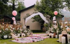 农村高端婚礼现场布置